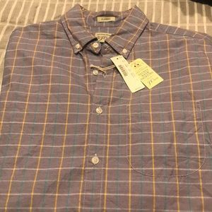 J. Crew casual button down Men's size S